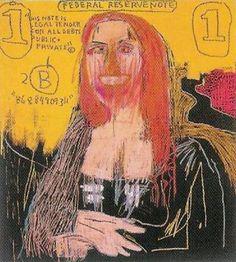 Jean-Michel Basquiat #monalisa