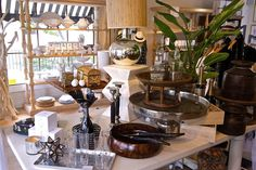 Southern Sophisticate: Montecito Magic. Glorious little shop for all things home and entertaining (with a great website, too) in SOCAL. Love Maison K!