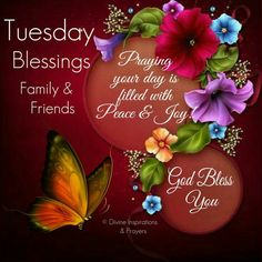 Tuesday's Blessings!