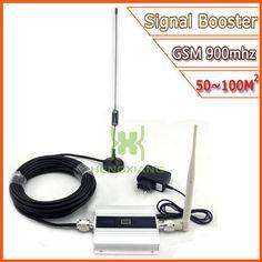 LCD GSM Booster 2G Teléfono Celular Amplificador de Señal GSM 900 mhz Móvil Repetidor de Señal Celular Amplificador de la Antena Al Por Mayor