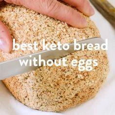 Gluten Free Recipes, Low Carb Recipes, Cooking Recipes, Gluten Free Bread Recipe Without Eggs, Vegan Gluten Free Bread, Keto Bread Coconut Flour, Almond Flour Waffles, Coconut Flour Cakes, Coconut Flour Tortillas