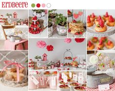 Sweet Candy Table Erdbeere | suess-und-salzig.de