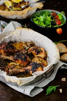 Pollo arrosto al limone, miele e erbe aromatiche47