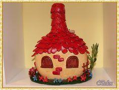 Mi Pequeño Rincón: botellas Gingerbread, Creative, Fairy Gardens, Fairies, Bottles, Home Decor, Paper, Decorated Bottles, Closets