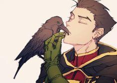 Raven Comics, Dc Comics, Robin And Raven, Storm In A Teacup, Teen Titans Fanart, Al Ghul, Star Wars Ships, Damian Wayne, Batman Robin