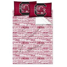 Use this Exclusive coupon code: PINFIVE to receive an additional 5% off the University of South Carolina Anthem Full Sheet Set at SportsFansPlus.com