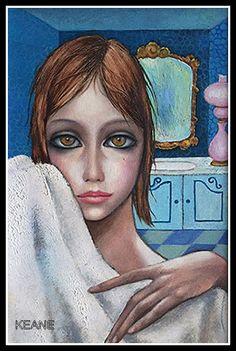 """""""Vanity"""" ~ Margaret Keane, 1962"""