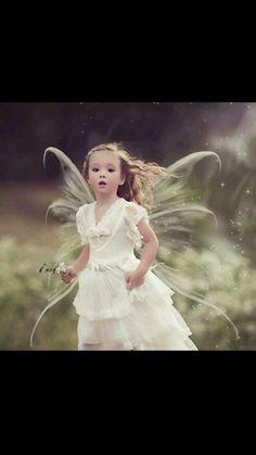 Gorgeous Little Fairy Girl