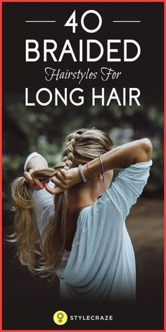 Creating something magical with your long hair that you consider boring. Sounds ridiculous, right? But here's the thing – it's actually doable! With normal three strand braids, fishtail braids, French braids, Dutch braids, and every variation you can think of in between, you can create true works of art with your long tresses.