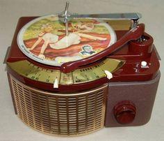Zenith Cobra-Matic record changer, 1950 - Riggio Family - Google+