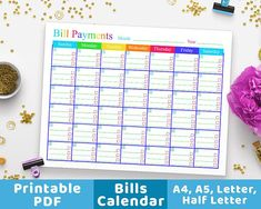 Free Bill Payment Template  To Download Customize With The Excel