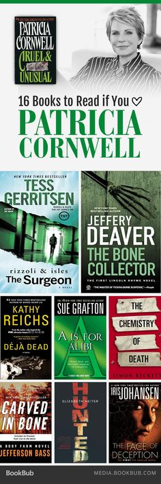16 books to read if you love Patricia Cornwell, including reads from Tess Gerritsen and James Patterson.