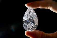 This 101.73-carat diamond may be pear-shaped, flawless and worth millions, but it's not even close to being a record-breaker.