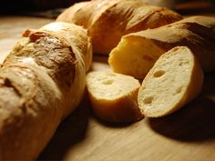 """""""It would eventually take us two years and something like 184 pounds of flour to try out all the home-style recipes for French bread we could find.""""  ~ Julia Child, My Life In France  Try Julia Child's classic French Bread recipe"""