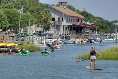 CHECK! - Murrells Inlet on the Intracoastal Waterway near Myrtle Beach in Murrells Inlet, SC. I found a good deal and helpful service at Express Watersports.