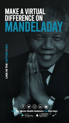 Most of us are going through tough times right now, but there are many who are worse off. Scroll through these acts of kindness to see how you can support those most affected, this #MandelaDay. #getmemo #mandeladay2020 #timetoserve #madiba Story Blogs, Tough Times, Acting, App, Health, Hard Times, Health Care, Apps, Salud