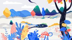 """Check out my @Behance project: """"Jungle Day"""" https://www.behance.net/gallery/49985527/Jungle-Day"""