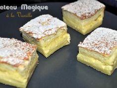 Gâteau magique à la vanille, Recette Ptitchef