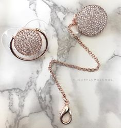 Chic Swarovski Crystal Bling Pacifier in Silver, Gold & Rose Gold – Sugar Plum Avenue LLC Silver Roses, Rose Gold, Bling Pacifier, Baby Bling, Pregnant Mom, Celebrity Babies, Baby Gifts, Swarovski Crystals, Swarovski Jewelry
