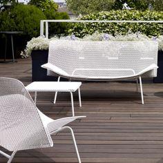 Table et Fauteuil GRILLAGE / François Azambourg / Cinna / Mobilier contemporain http://decdesignecasa.blogspot.it