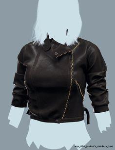 Mara _wip_Jacket shaders test, Rhangga Putra on ArtStation at http://www.artstation.com/artwork/mara-_wip_jacket-shaders-test