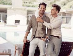 Jeremiah Brent and Nate Berkus Are the Cutest Campaign Couple Ever for Banana Republic - Fashionista