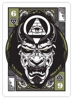 Playing card Line art Illustration 7 Knight, Samurai, Graphic Art, Graphic Design, Skate Art, Deck Of Cards, Colorful Pictures, Cool Artwork, Dark Art