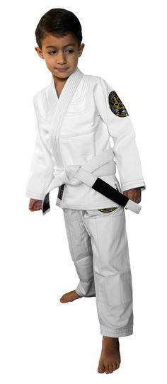 NJ FIGHT SHOP - Break Point Gi Standard Kids White, $82.95 (http://www.njfightshop.com/break-point-gi-standard-kids-white/)