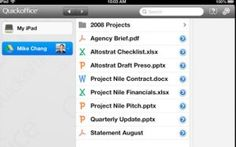 Google Launches Free Quickoffice iPad App For Google Apps For Business Customers, iPhone And Android ComingSoon
