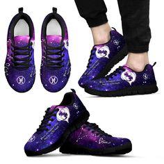 Custom Printed Shoes - Zodiac - Pisces Horoscope