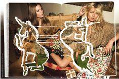 stella mccartney fall 2008 kate moss campaign TBT | Kate Moss Stella McCartney Campaigns Through the Years