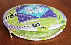 Round Pouch C & PDF Tutorial | Flickr - Photo Sharing!