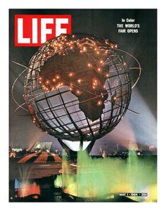 Life Magazine, May 1, 1964: New York World's Fair 1964-65.