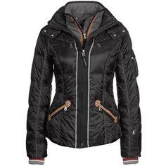 Bogner KIKI Ski jacket ($1,135) ❤ liked on Polyvore featuring outerwear, jackets, black, down jackets, women's outerwear, bogner jackets, down ski jacket, ski jackets, down filled jacket and bogner