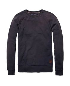 Basic Garment Dyed Crew Neck - Scotch   Soda 34840023ed7d