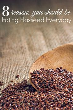 Are you eating Flaxseed? You should be! These 8 reasons you should be eating flaxseed everyday might surprise you! This superfood is a must have for any healthy diet or healthy recipe! Best Nutrition Food, Fitness Nutrition, Health And Nutrition, Health Tips, Nutrition Products, Nutrition Articles, Proper Nutrition, Nutrition Guide, Nutrition Websites