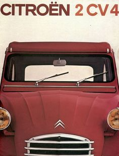 Citroen 2 CV 4, the most beautiful car.