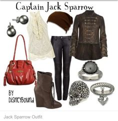Captain Jack Sparrow inspired outfit