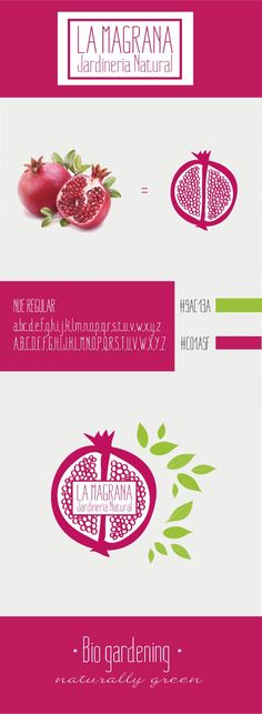 Branding: Bio Gardening by Alba Plana, via Behance