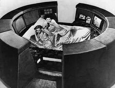 Sleepcentre 2000 by the British company Slumberland, 1978