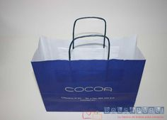 Bolsapubli es la fábrica de bolsas de papel al mejor precio. Su nuevo lanzamiento en bolsas de este material han sido las newbags, sin fuelles laterales.