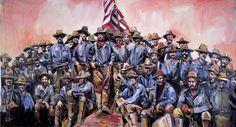 Battle of San Juan Hill Art