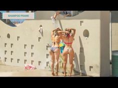 SHAMPOO PRANK | Broma épica del shampoo infinito en la playa - YouTube