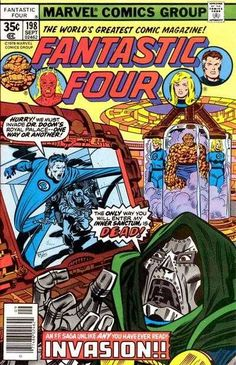 Fantastic Four #198 - Invasion!