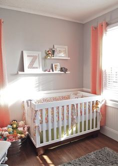 From bookcases as dressers to industrial tubs as storage bins – you'll love these creative and fun ideas for your baby's room.