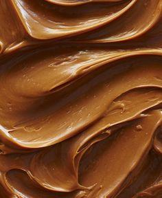Peanut butter close-up.