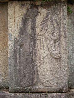 김유신장군 묘 호석 12신상, 뱀(사, 巳), Snake