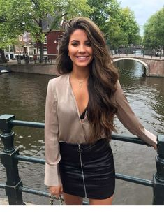 When you care for your hair your whole life changes. Good hair tells other people that you are put together. Gorgeous Hair, Gorgeous Women, Brunette Beauty, Hair Beauty, Dark Hair, Brown Hair, Mode Hippie, Satin Shirt, Grunge Hair