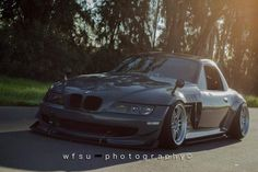 BMW Z3 grey slammed