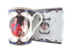 Royal Wedding Bone China Mug, Royal Couple- Prince William & Catherine One of the Best Selling Royal Wedding Souvenir Bone China Mug. Come in a Printed Cardboard Box. Good Quality and Value for Money. Ideal Royal Wedding Souvenir. Ideal Gift for Friends and Family.  #RoyalCrest #Home